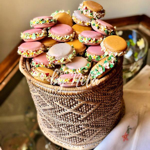 Cookies, cupcakes & macarons decorados