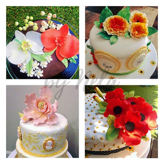 Collage de Fondants de tartas mágicas